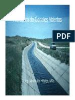 Hidráulica, Flujo en Canales Abiertos y Sus Clasificaciones (1)