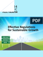 "PIDS Report on ""Effective Regulations for Sustainable Growth"""