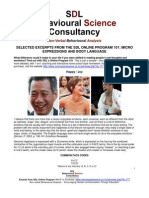 SDL Free eBook How to Read Body Language