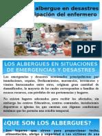Manejo de Albergue en Desastres y La Participación