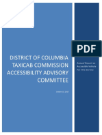 DCTC Accessibility Advisory Committee 2015 Annual Report