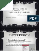 Medicamnte Cu Potential Citotoxic