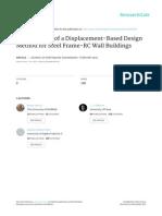 Garcia Et Al (2010) Development of a Displacement Based Design Method for Steel Frame-RC Wall Buildings