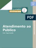 Atendimento Ao Público - Apostila