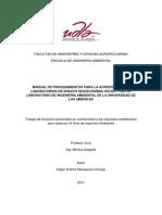 Ejemplo de Manual de Calidad. UDLA-EC-TIAM-2011-01