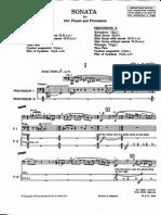 Bartok SZ110 Sonatafortwopianosandpercussionpercpart