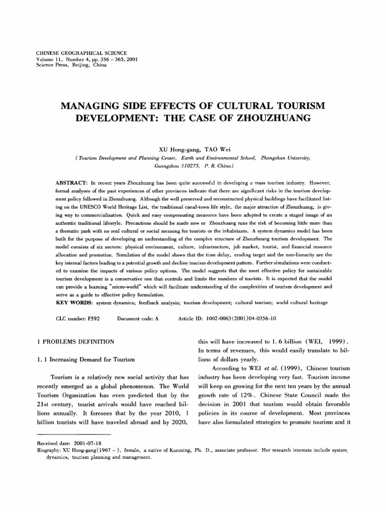 Zzmanaging side effects of cultural tourism tourism sustainability fandeluxe Images
