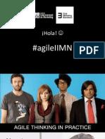 Masterclass IIMN - Agile (pensamiento y técnicas) - por José Carlos Gil Zambrana