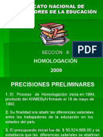 PRESENTACION_HOMOLOGACION_2009