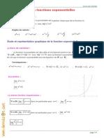 Cours Math - Fonctions Exponentielles - Bac Math Mr Abidi Farid