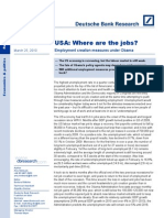 USA Where Are the Jobs