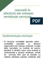 Terapia Manuală În Af. Cervicalet PowerPoint