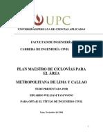 Plan Maestro de Ciclovías para el área metropolitana de Lima y Callao