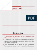 Partnership Act 1932