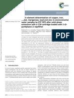 Analytical Methods 7 (2015) 8714 ICP OES _ PAN