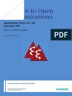 OpenScape Voice SW R2 V3.1, Interface Manual_ Volume 9, Assistant API Description, Administrator Documentation, Issue 1_addfiles