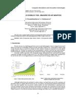 Sustainable Energy Use Prospects of Biofuel