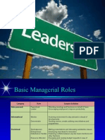 Conepts of Leadership