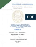 Formulación de un Derecho Minero en el Perú