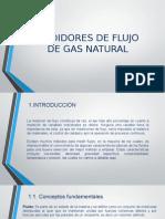 medidores de gas natural