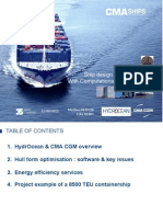 Ship Efficiency Seminar - CMA CGM- HydrOcean 1. CMA