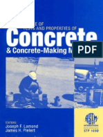 Significance of Test and Properties of Concrete and Concrete Making Material