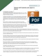 India Japan Australia Bloc