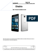 ALCATEL ONE TOUCH 6030 X D a N L2 Repair Document V1.3