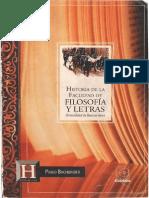 HistoriadelaFacultaddeFilosofiayLetras