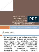 Contribución Al Modelo Geotérmico Del Volcán Azufral A