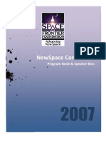 NewSpace 2007 Program