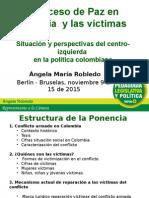 Presentación sobre el proceso de paz en Colombia y las víctimas