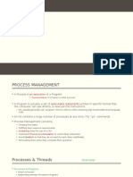 Process Management ppt for operating systems