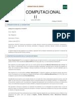 Fisica computacional II