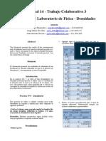 Informe de Laboratorio Practica 5 Fisica General