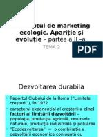 Tema 2 Conceptul de Marketing Ecologic