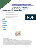 Compareti_I Monumenti Funerari Appartenuti a Potenti Stranieri