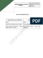 Procedimiento Manejo Integral de Residuos Pgrf-25