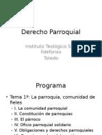 Derecho Parroquial. Power Point