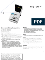 Tc Electronic Polytune Manual English