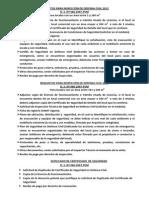 Requisitos Inspeccion Defensa Civil 2012