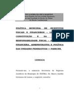 Parecer - Incentivo Tributário.doc
