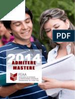 Brosura Admitere Mastere 2014