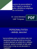 personalitate teorii curente