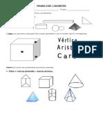 PRUEBA Coef. 1 Geometria 5º Basico