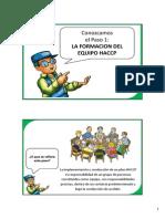 Haccp Paso 1