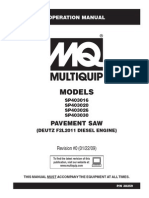 Saws Pavement SP4030 Series Rev 0 Ops Manual DataId 19128 Version 1