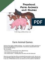 Farm Animal Lesson