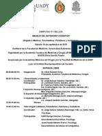 Simposio y Taller Deterioro Cognitivo. Dr. Boleaga Propuesta