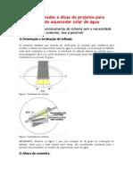 Altura de Telhados e Dicas de Projetos Para Implantação Do Aquecedor Solar de Água